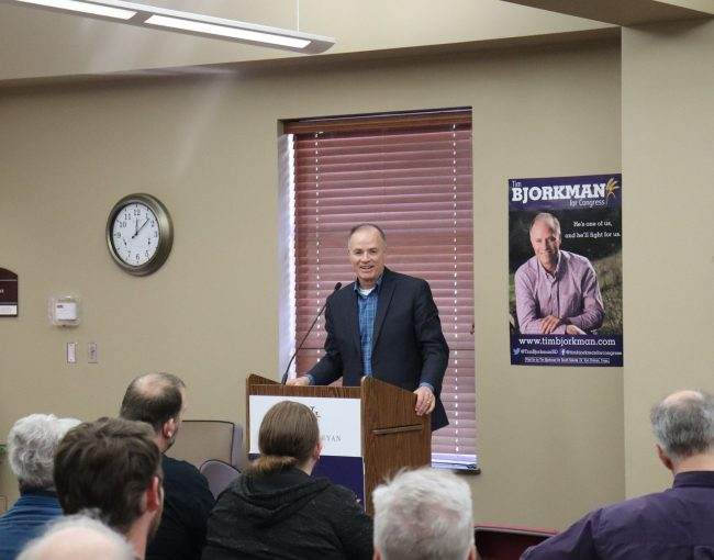 SD Democratic Congressional Candidate Tim Bjorkman; Rising Need for Mental Health & Drug Treatment